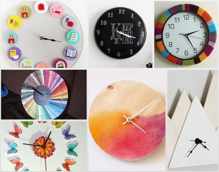 50 Diy Clock Ideas Rilane We Aspire To Inspire Diy Clock