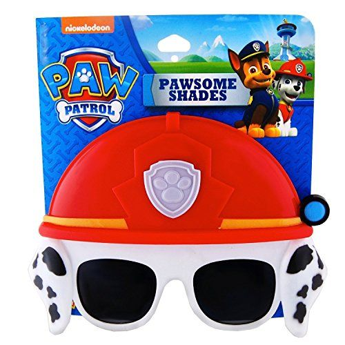 Paw Patrol Marshall Mask Sunglasses Marshall Halloween  Birthday Party Sunglasses *** Read more at the image link.
