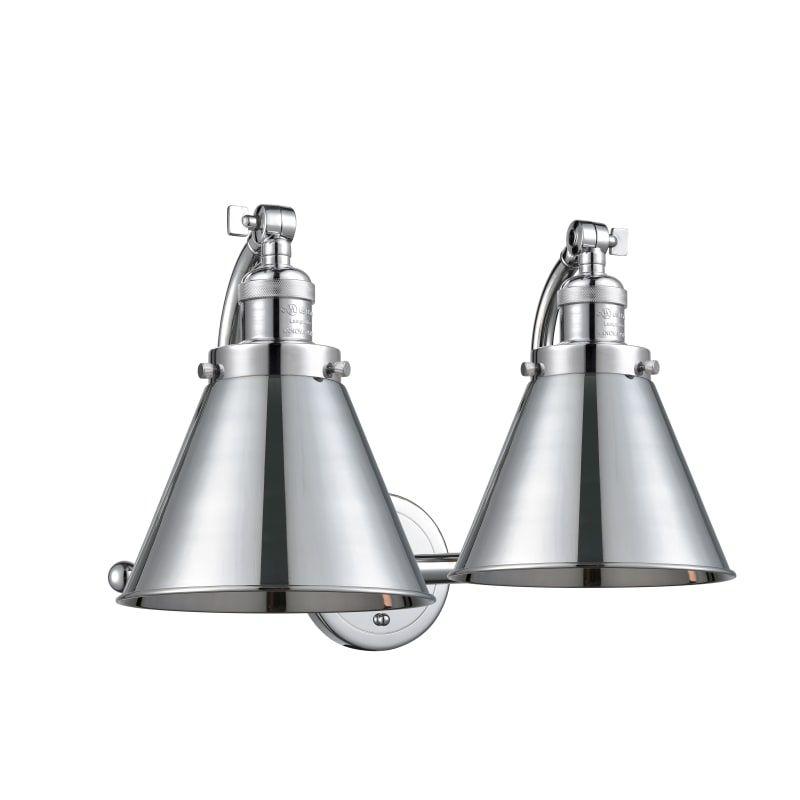 Photo of Innovations Lighting 515-2W Appalachian Appalachian 2 Light 18″ Wide Bathroom Va Polished Chrome Indoor Lighting Bathroom Fixtures Vanity Light