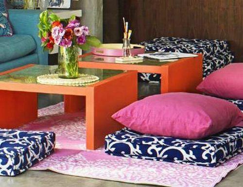 orientalische wohnideen-verschönern sie ihr wohnzimmer mit ... - Pink Orientalisch Wohnzimmer