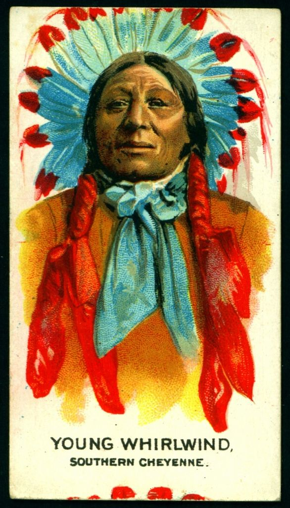 Cigarette Card - Indian Chief, Young Whirlwind | American