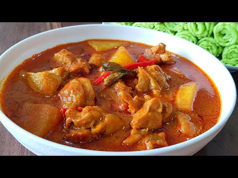 Kari Ayam Pedas Spicy Chicken Curry For Beginners Youtube Spicy Chicken Curry Recipes Kari Ayam Poultry Recipes