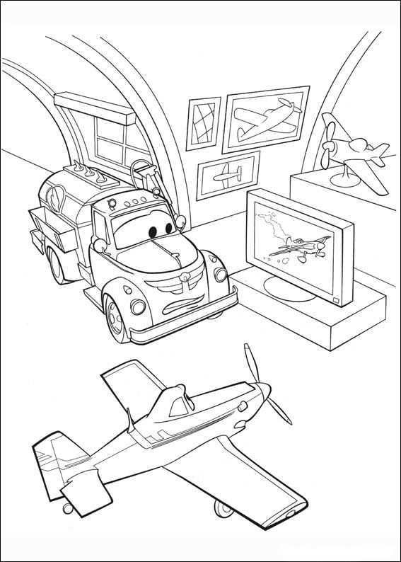 Målarbilder Flygplan 78 | Målarbilder | Pinterest | Ausmalbilder ...