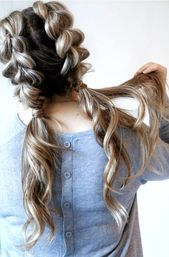 Photo of 27 Cute and Easy Long Hairstyles for School  27 Cute and Easy Long Hairstyles fo…