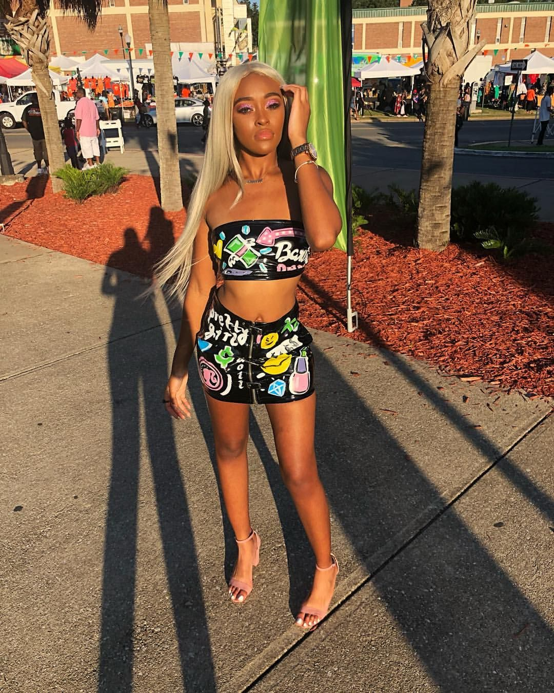 Pin By Da Ona Gholston On Birthday Outfits With Images Summer