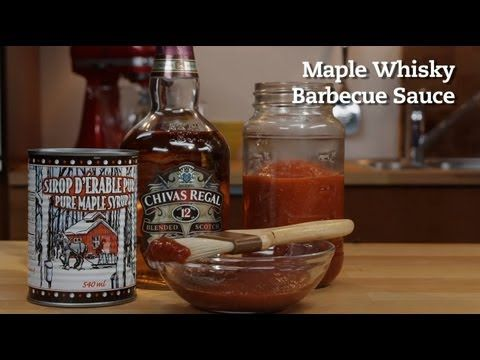 Maple Whisky Barbecue Sauce Recipe