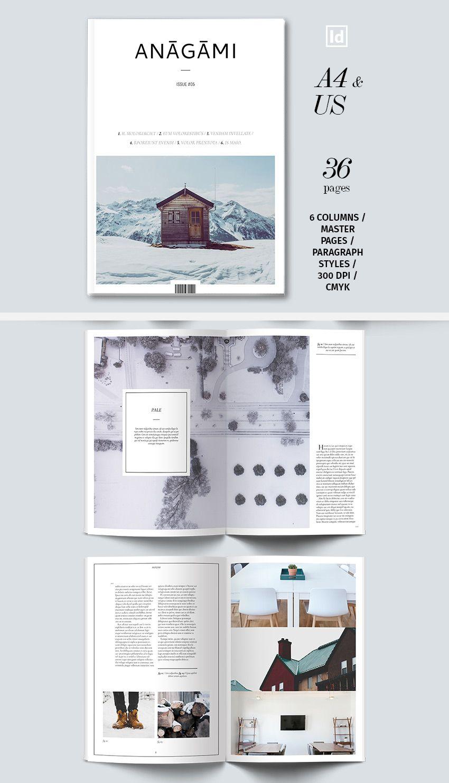 clean magazine | maquetación | Pinterest