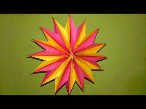 How to Make A Perfect Star With ONE Cut - Bonus: Make a Star in ...   360x480