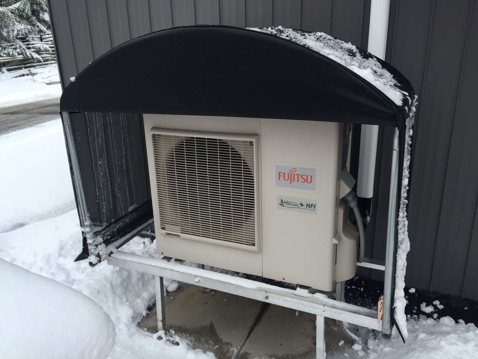 Ensure the efficiency of your Heat Pump. Shield it from