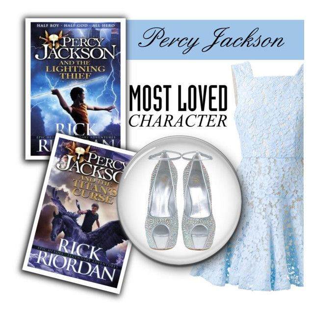 """""""Most Loved Book Character:Percy Jackson"""" by irena123 ❤ liked on Polyvore featuring Alex Perry and Giuseppe Zanotti"""