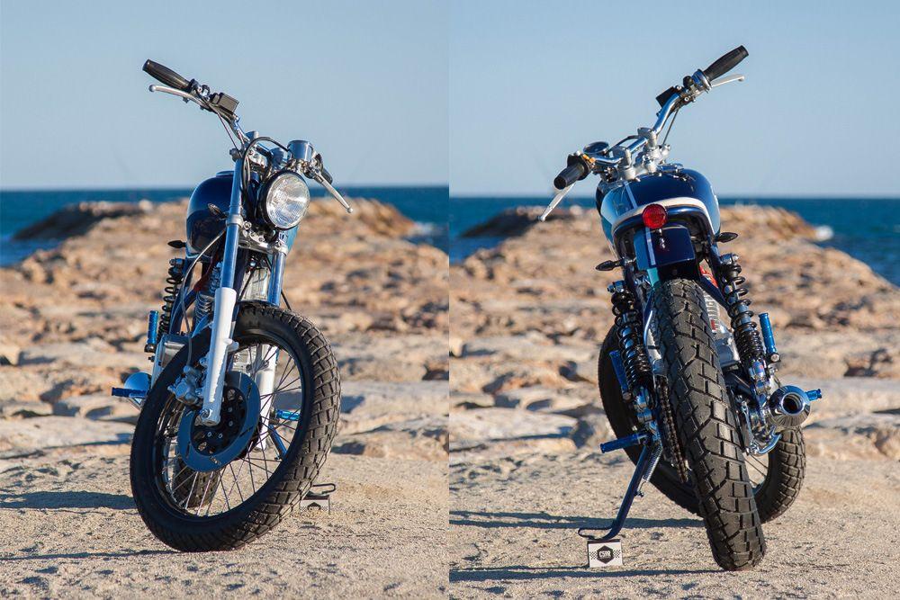 Yamaha SR250 Little Blue by C59R