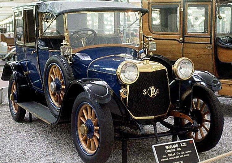 panhard et levassor x26 voiture routi re 1914 la panhard et levassor type x 26 cette. Black Bedroom Furniture Sets. Home Design Ideas