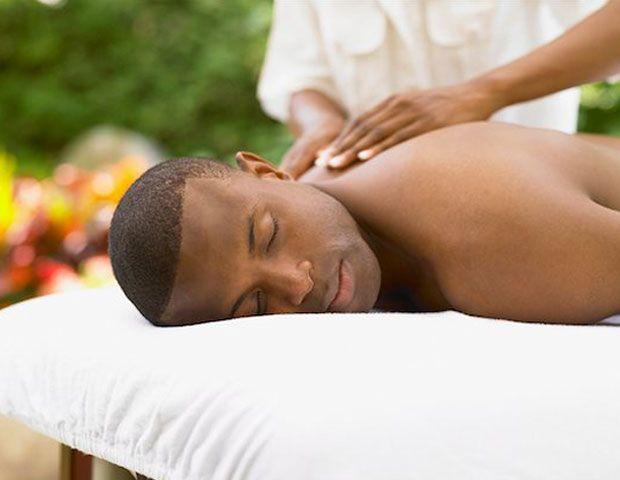 Black Man Massages