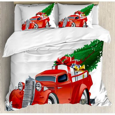Ambesonne Christmas Duvet Set Size Queen Products