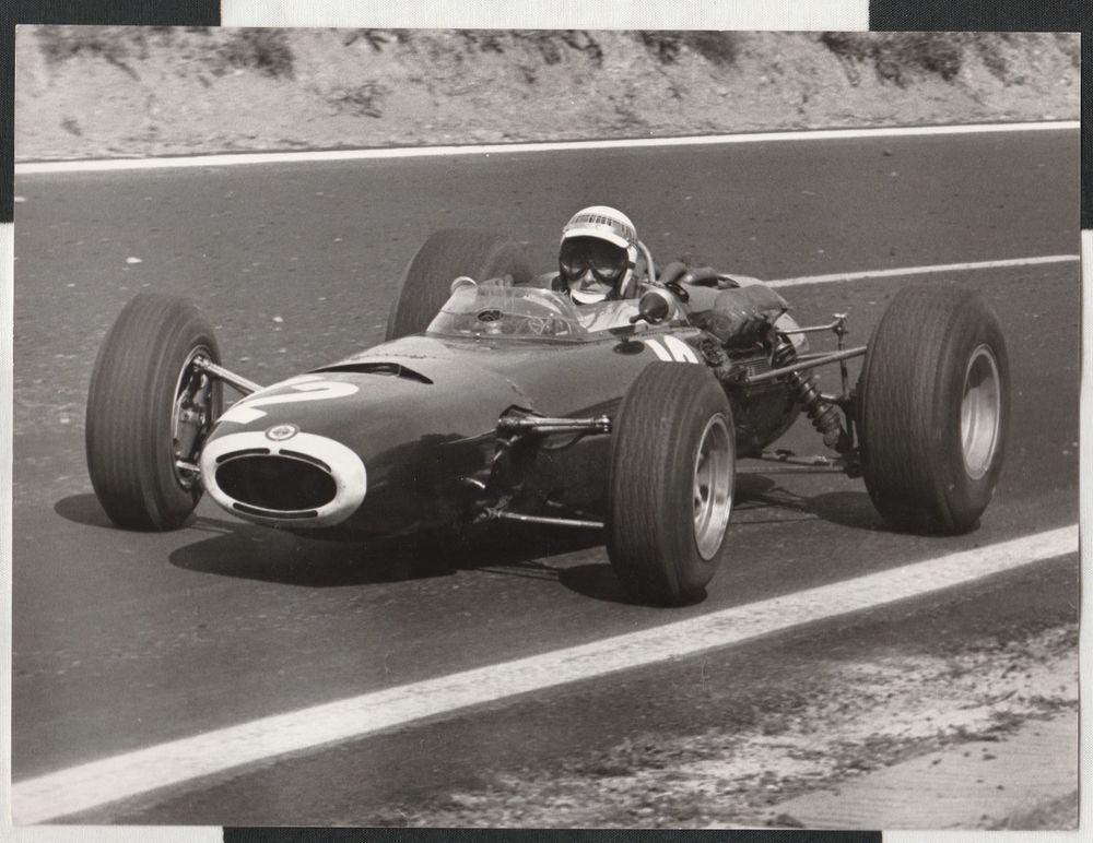 Jackie Stewart Brm P261 French Gp Clermont Ferrand 1965 F1 Original Photograph Racing Race Cars Formula 1 Car