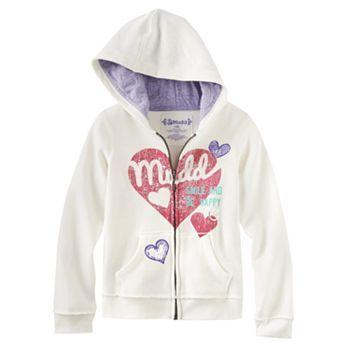 Mudd Logo Fleece Hoodie - Girls 4-6x