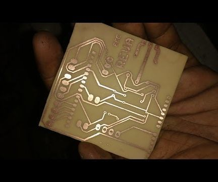 PCB ETCHING | Electronics & Microcontrollers | Laser printer toner