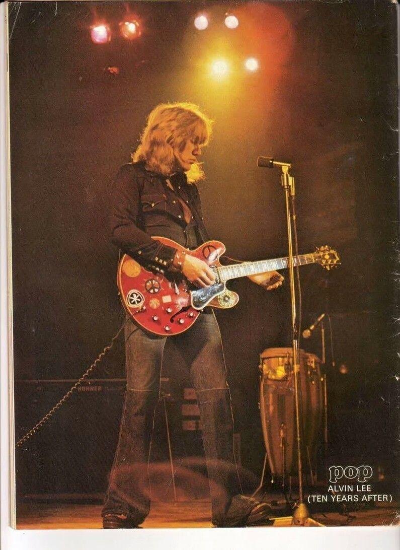 Alvin Lee Ten Years After Alvin Lee Rock And Roll Guitar Design