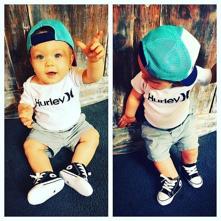 e88f8a8e7278 Cute Baby Boy With Blue Converse. Cute Baby Boy With Blue Converse Blue  Converse