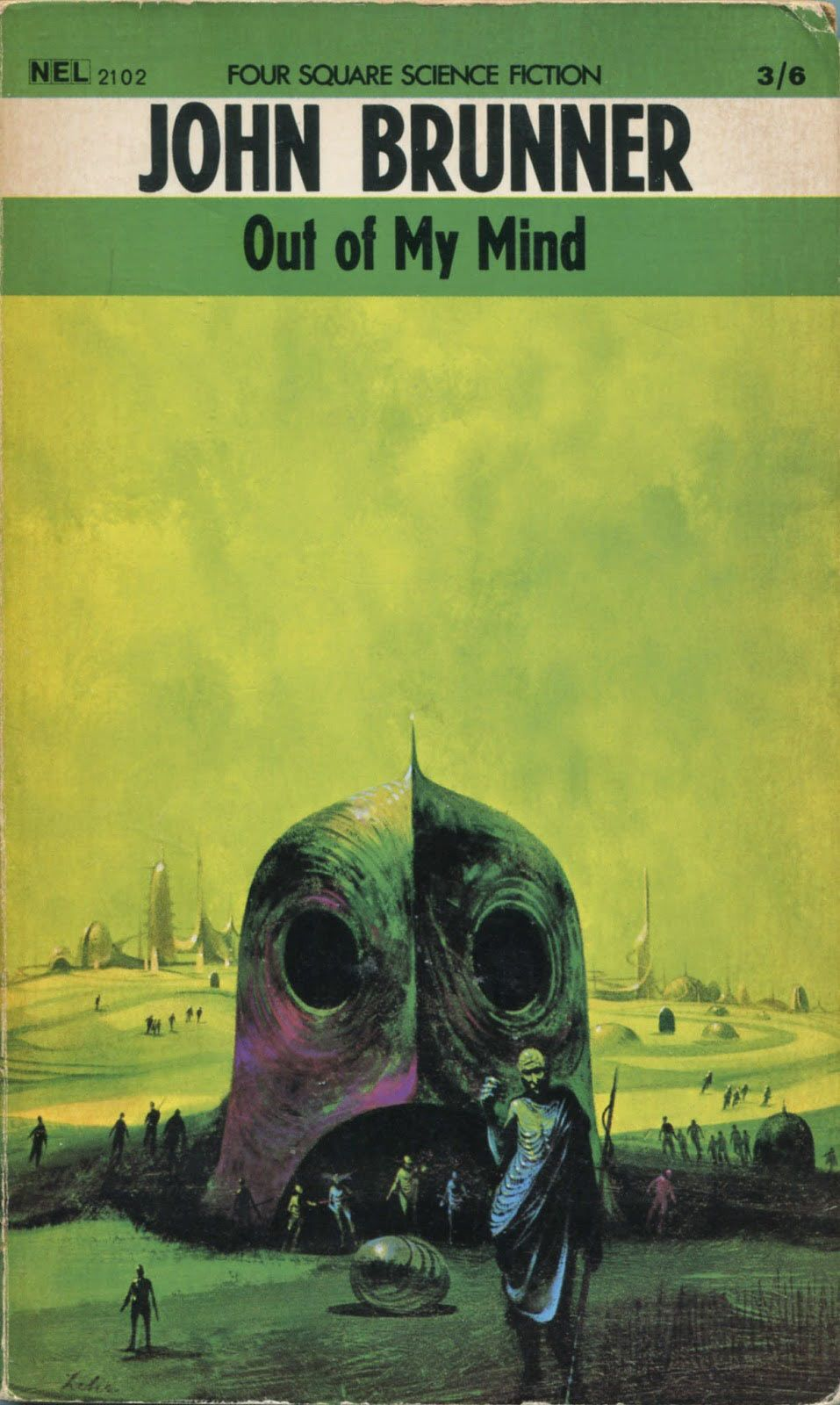 Ski-Ffy, a Collection of Science Fiction Book Cover Art: JuxtapozScienceFiction015.jpg