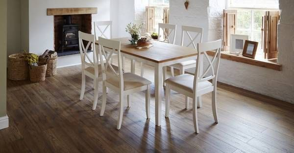 Evesham Rectangular Dining Table & Set Of 4 Chairs  Dfs  Kitchen Brilliant Dfs Dining Room Furniture Inspiration Design