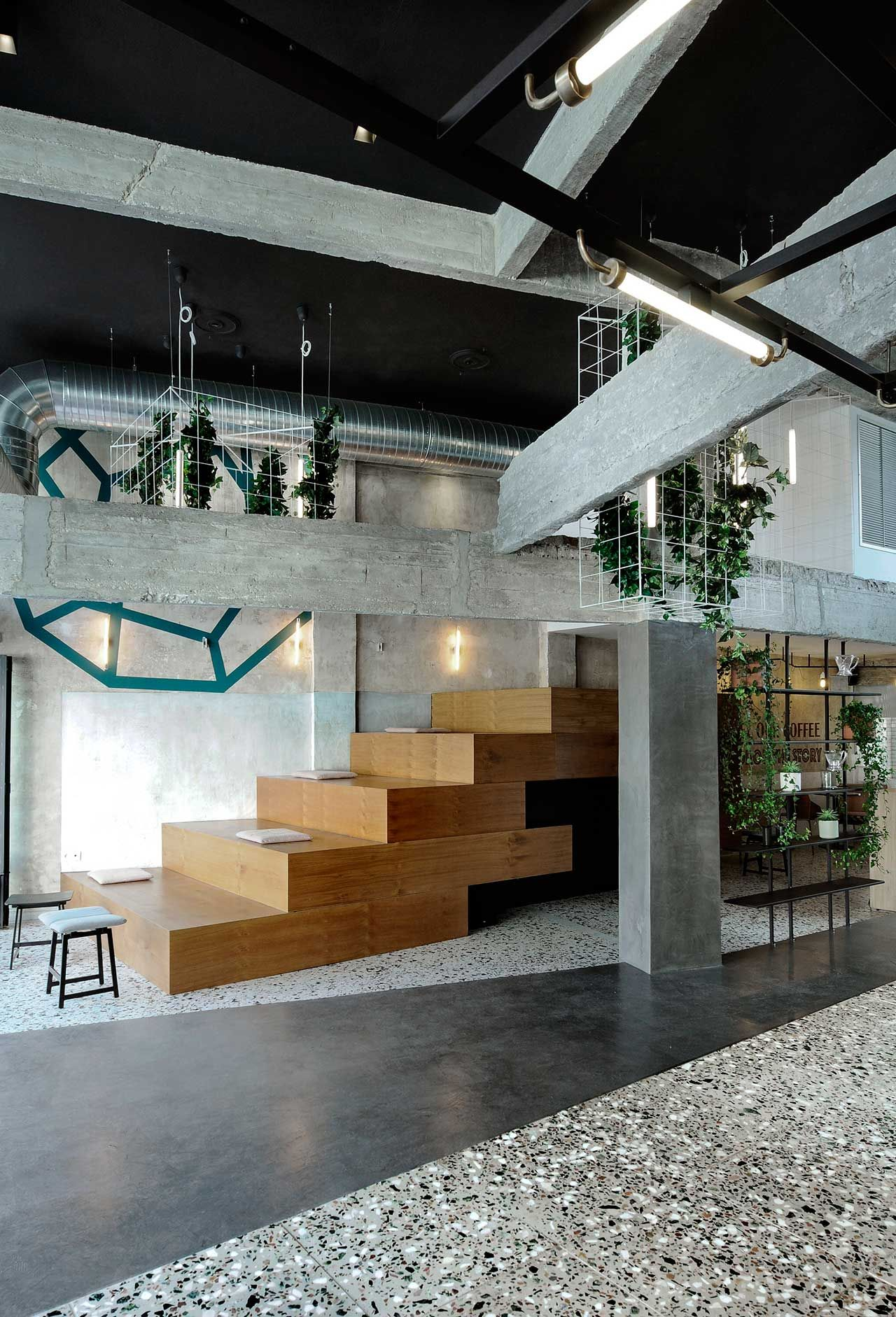 The Welcoming Urban Aesthetic of Black Drop in Kavala by ...