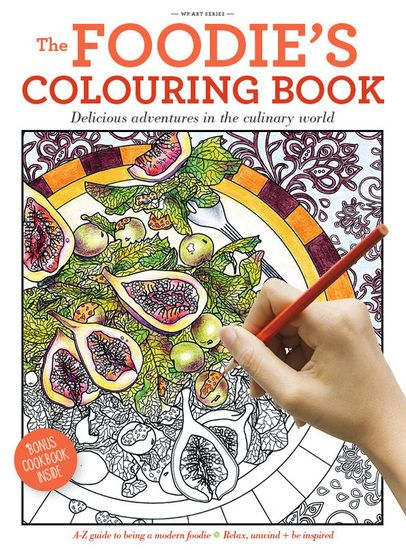The Foodies Colouring Book By Alicia Freile Jess Lomas