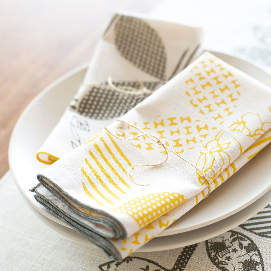 Patterned Cloth Napkins Interesting Inspiration