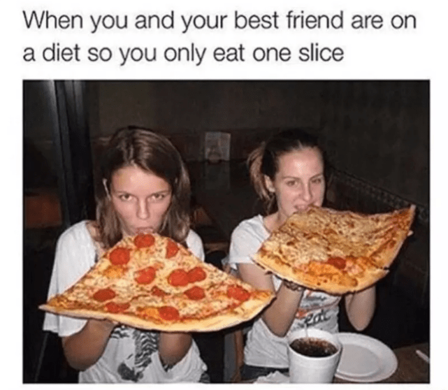 25 Hilariously Relatable And Funny Eating Memes Eat Super Healthy Recipes Diet Meme
