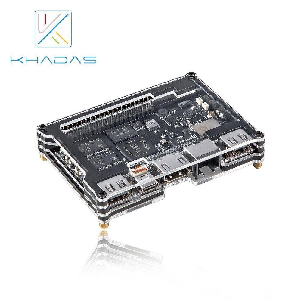 Khadas VIM2 Max Mini PC With Linux Ubuntu Mate 16 04 Support, Octa