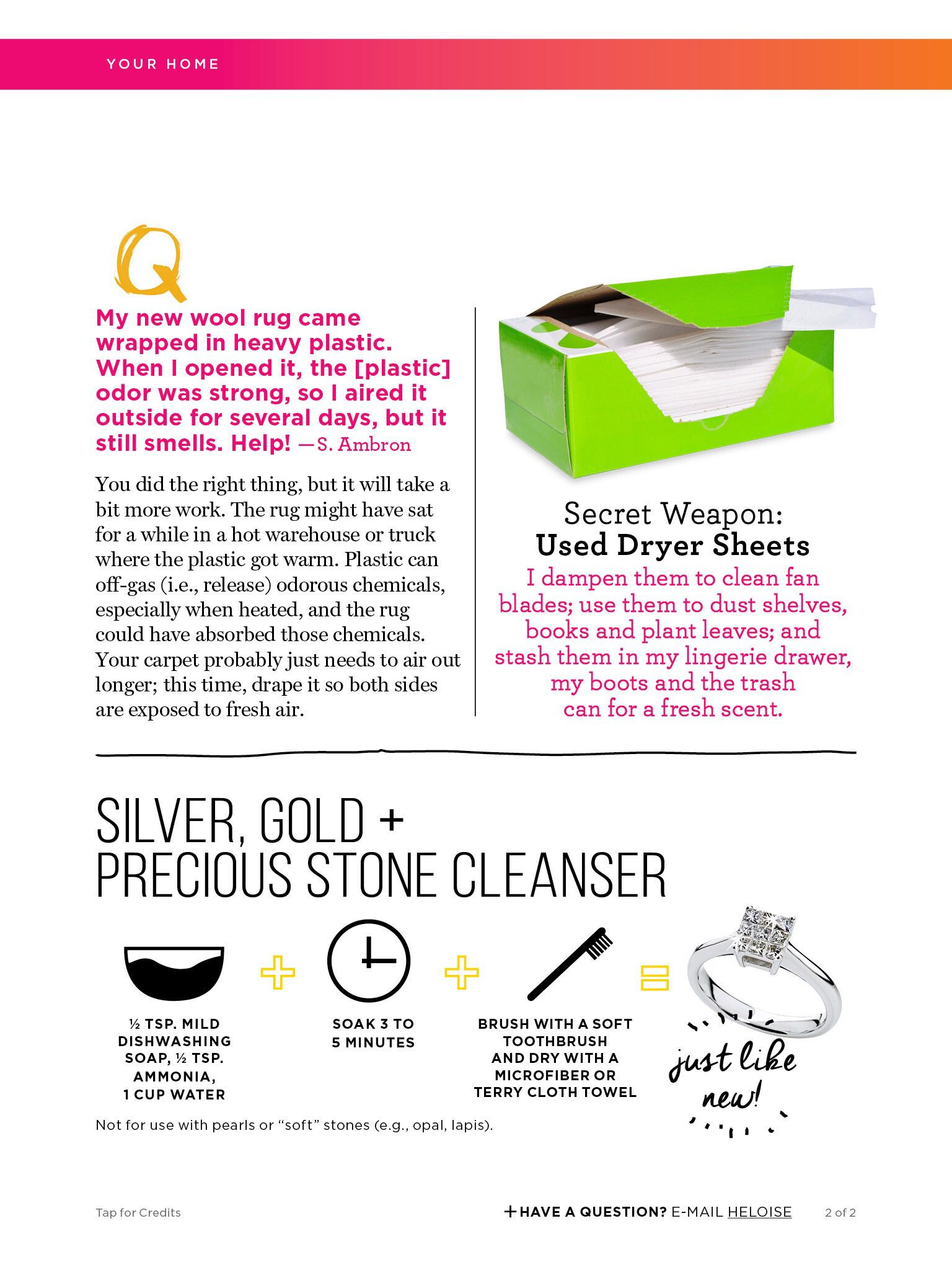 Cleaning solutions   Good housekeeping, How to clean ...