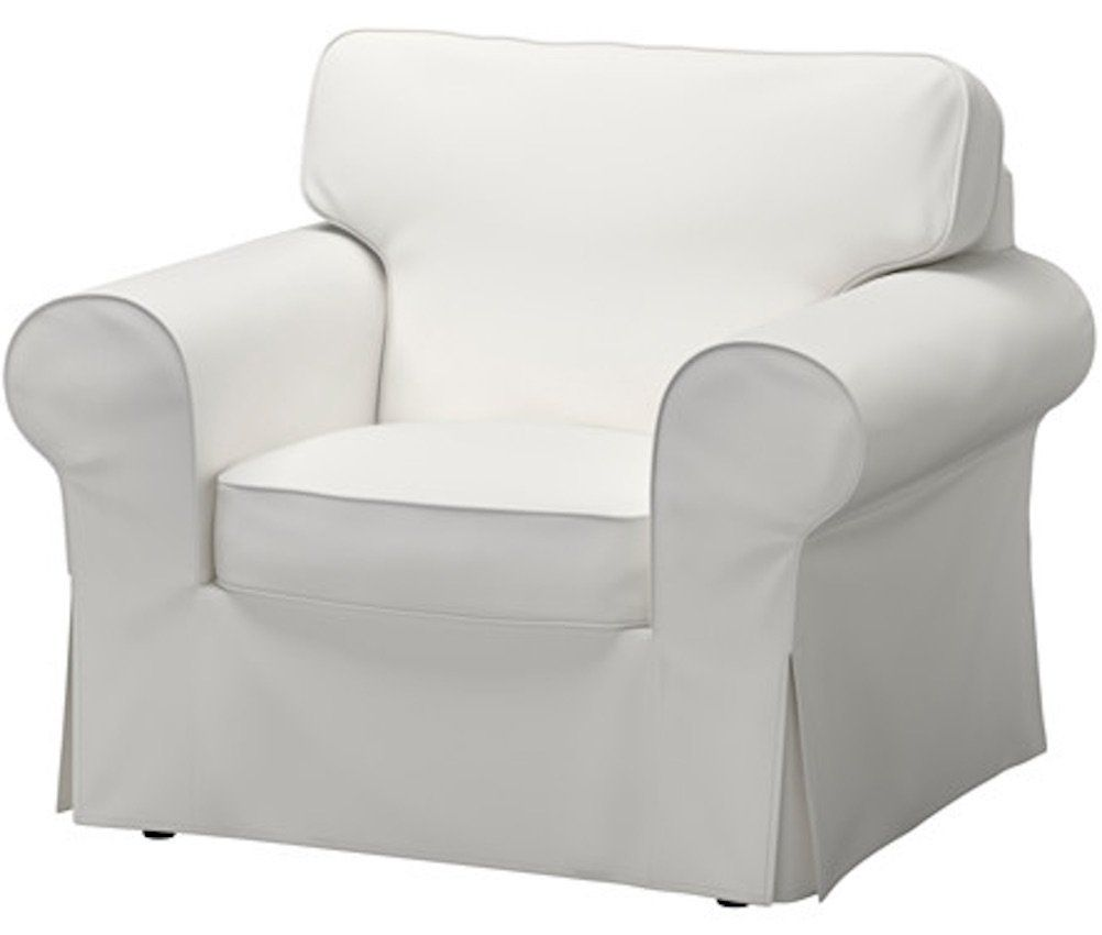 Ikea Replacement Chair Covers Jam Dining Chairs The Dense Cotton Ektorp Cover Is Custom Made For Armchair A One Seat Sofa Slipcover White Visit