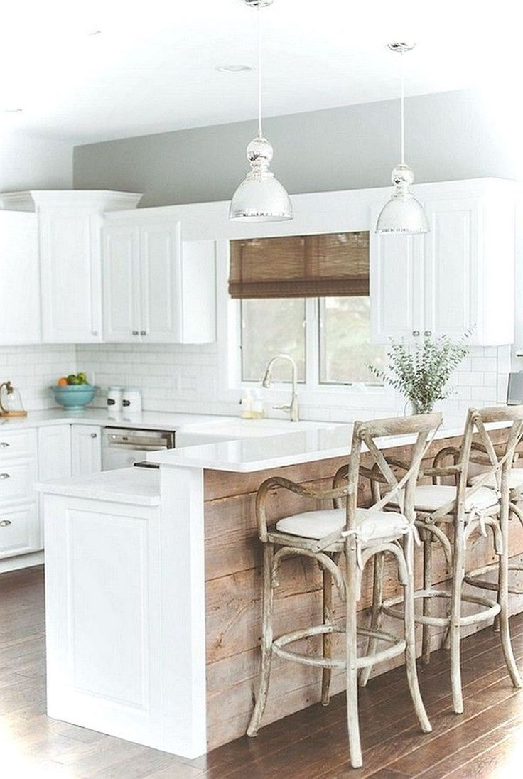 36+ Magnificence White Kitchen Cabinets Ideas - Kitchen remodel small, Rustic farmhouse kitchen, Rustic kitchen, Farmhouse kitchen design, New kitchen cabinets, Kitchen renovation - For some people, the kitchen is the central part of the house  In a kitchen, all togetherness is in here be the one  Having a dream kitchen is wishes by most mothers certainly  Having complete furniture like cabinet, stove, kitchen set, and large also be happy for people who are like so much with cooking  …