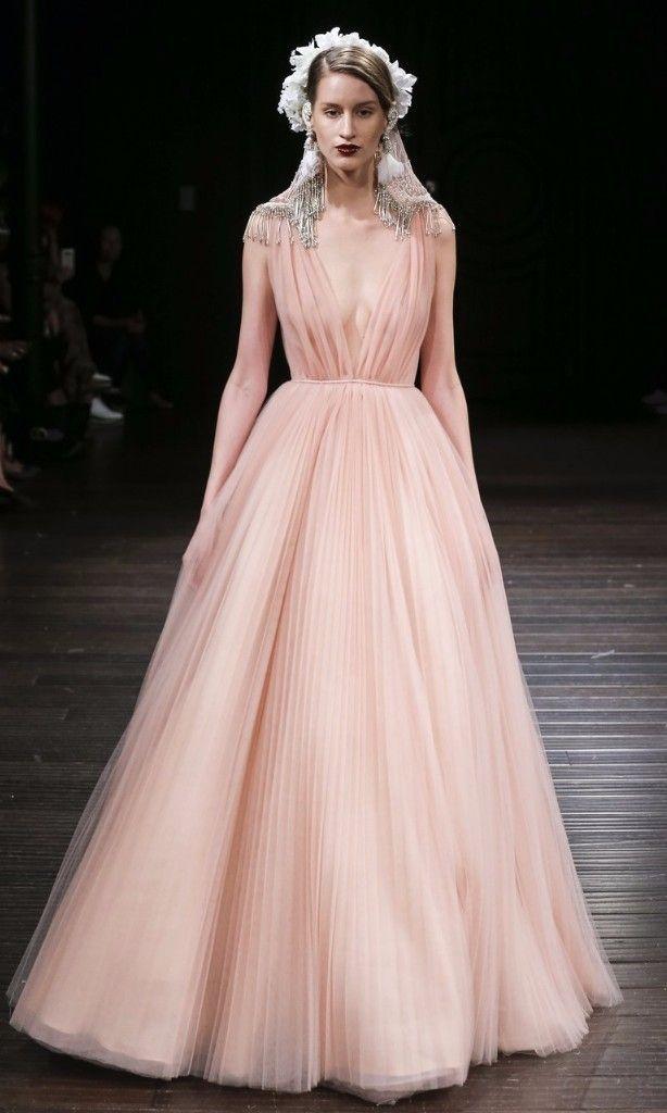 Pink Royal Wedding Dresses