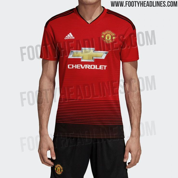 OFFICIAL Pictures  Manchester United 18-19 Home Kit Leaked - Footy Headlines c98e91763