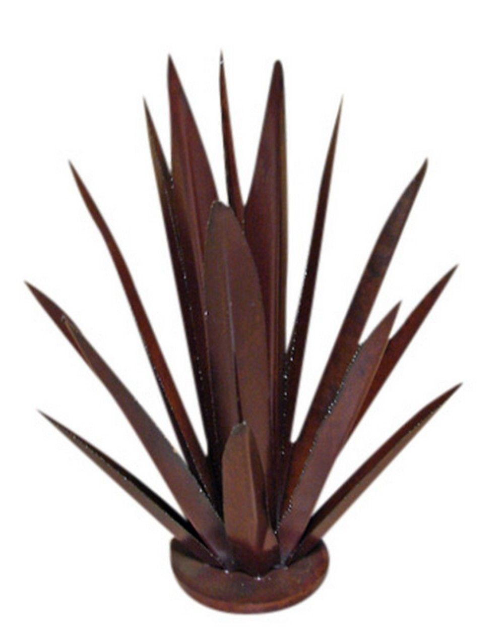 Image detail for metal agave plant sculpture rustic