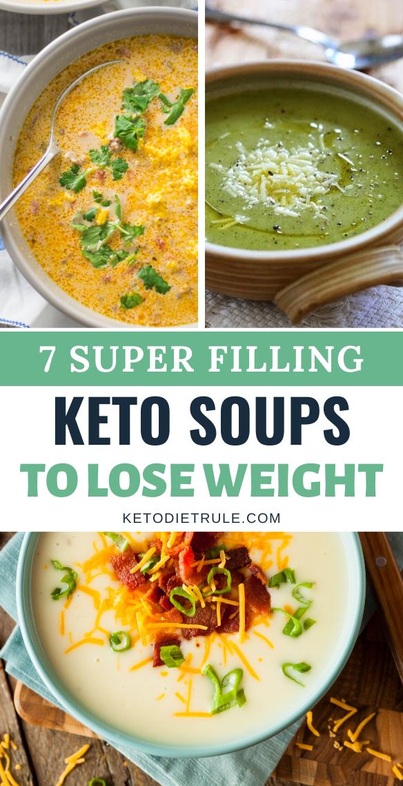 7 Best Keto Soup Recipes To Warm You Up Keto Diet Rule Keto Soup Keto Diet Recipes Healthy Low Carb Recipes
