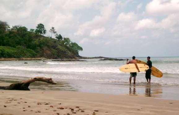 SAN JUAN del SUR, encore assez méconnu des touristes,au Nicaragua, est pourtant un endroit parfait pour surfer. Une de... - Photo Flickr