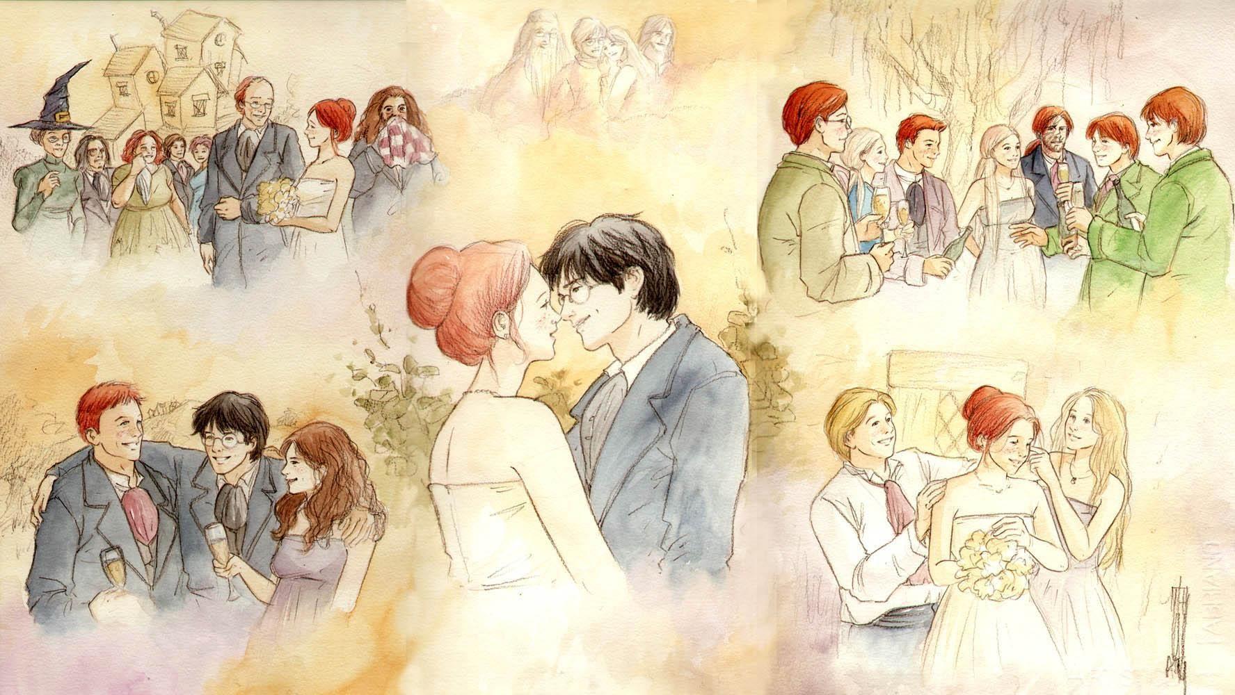 Casamento de Harry e Gina