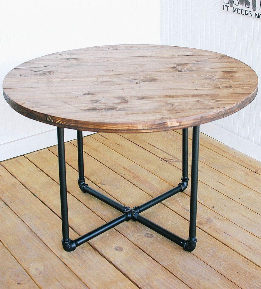 Diy Round Coffee Table Plans Collection Diy Round Outdoor Table Diy Round Outdoor Table P Skinnyfatkid Wohnzimmer Hausdekor Mebel Iz Trub Interer Mebel [ 986 x 888 Pixel ]