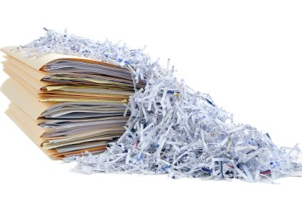 Secure Shredding Services Paper Clutter Paper Clutter