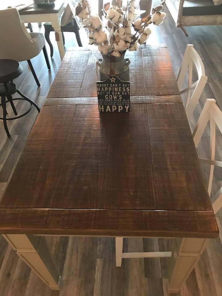dining table white pine wood 30x60 farm tables blu cotton rh pinterest co uk