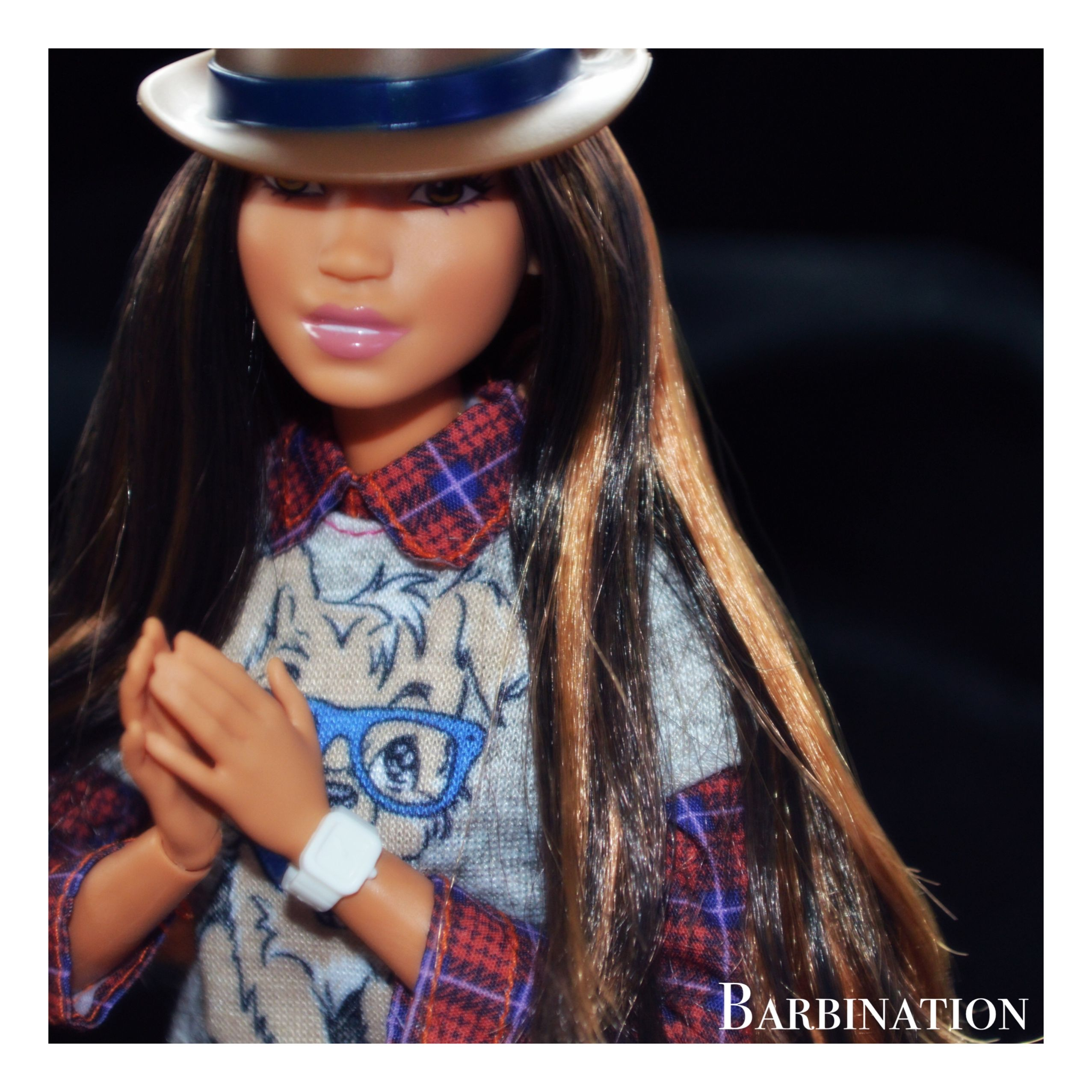 Hipster Style Barbie Barbiedoll Barbination Hipster