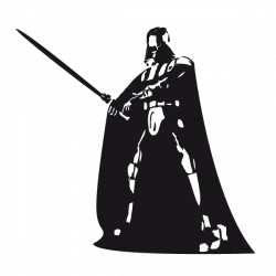 Dark vador stickers personnage l gende silhouette personnages dark vador dessin et stickers - Dessin dark vador ...