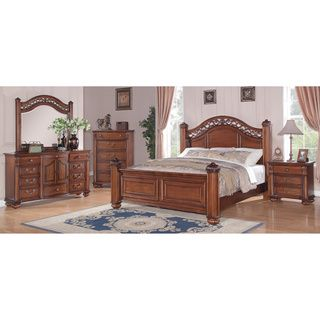 Best Picket House Furnishings Barrow Poster 5Pc Bedroom Set 5 400 x 300