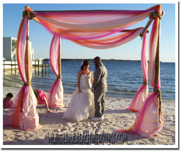 This Is A Local Wedding And Event Rental Company In Panama City Florida I Designed