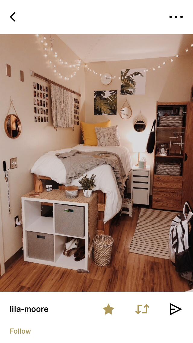 Uni Dorm College Room College Apartments Fall