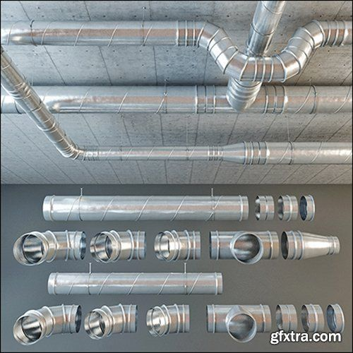 set ventilation pipes modele pinterest pipes restaurant rh pinterest com