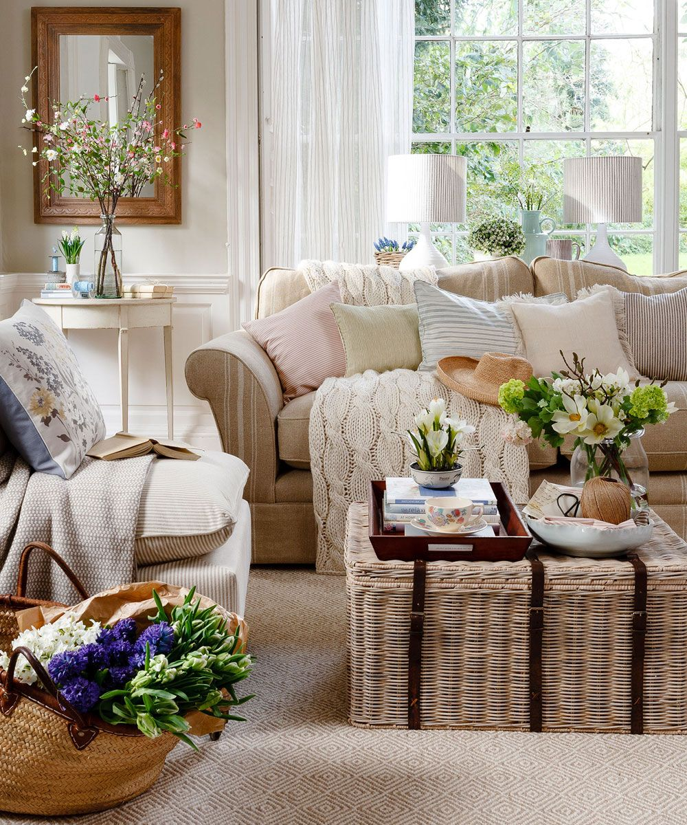 Neutral living room ideas Neutral living room
