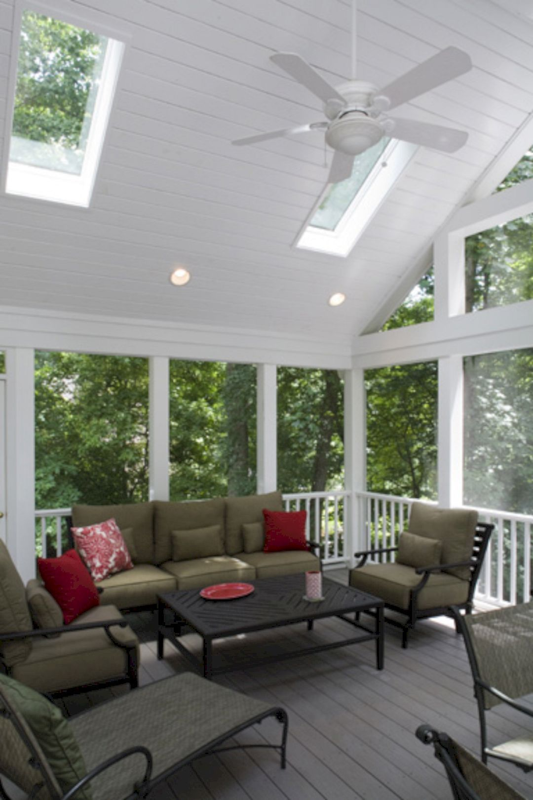 Deck design Wonderful Screened In Porch And